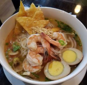 Spicy Tom Yum Noodle Soup
